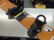 BURTON SNOWBOARD CUSTOM W BINDINGS
